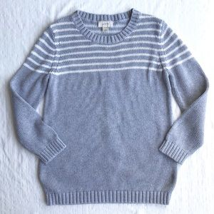 LOFT cotton knit sweater